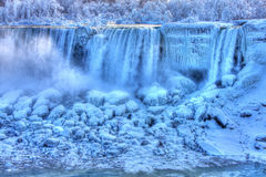 Frozen American Falls in Winter Royalty Free Stock Photography
