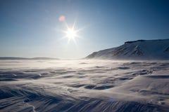 Frozen Arctic Landscape Royalty Free Stock Image