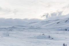 Frozen Arctic scene Stock Photo