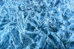 Frozen background Royalty Free Stock Photos