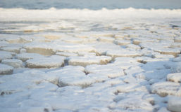 Frozen baltic sea royalty free stock photo
