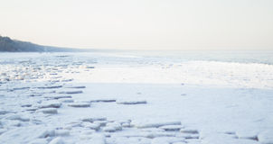 Frozen baltic sea Stock Photo