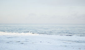 Frozen baltic sea Stock Photos