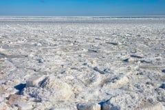 Frozen Baltic sea. Stock Photography