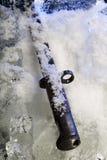 Frozen bayonet Stock Image
