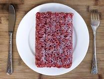 Frozen beef Stock Image