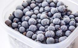 Frozen berries. Stock Photo