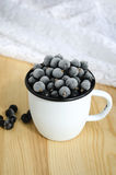 Frozen berries Stock Photo