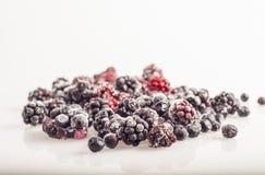 Frozen berries Stock Photography