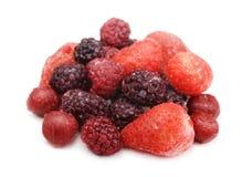 Frozen berries Stock Images