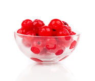Frozen berries red currant Royalty Free Stock Photo