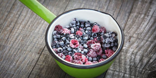 Frozen berries Royalty Free Stock Photography