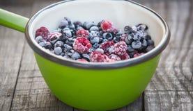 Frozen berries Stock Image
