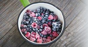 Frozen berries Royalty Free Stock Photos