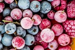 Frozen berries Royalty Free Stock Image