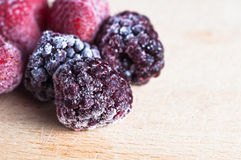 Frozen Berry Fruits Stock Photos