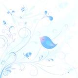 Frozen bird Stock Image