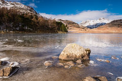 Frozen Blea Tarn Royalty Free Stock Images
