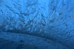 Frozen blue Royalty Free Stock Photography