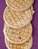 Frozen Blueberry Waffles Royalty Free Stock Image