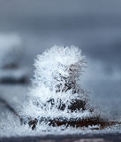 Frozen bolt Stock Photo