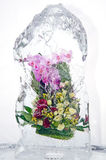 Frozen bouquet Royalty Free Stock Image