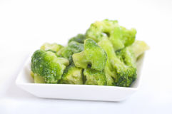 Frozen Broccoli Royalty Free Stock Images