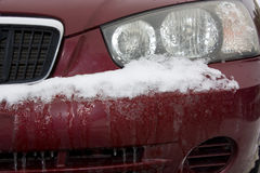 Frozen Car Royalty Free Stock Photos