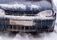 Frozen car Stock Photos