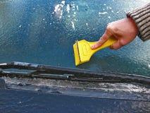 Frozen car Stock Photography