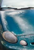 Frozen car Royalty Free Stock Image