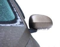 Frozen car Stock Image