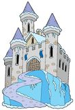 Frozen Castle Royalty Free Stock Photography