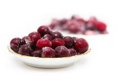 Frozen cherry Stock Photos