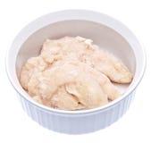 Frozen Chicken in a Bowl Stock Photos