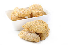 Frozen chicken nuggets Stock Images