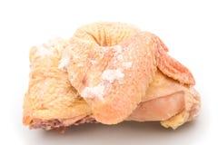 Frozen chicken Stock Photo