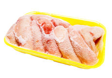 Frozen chicken wings Royalty Free Stock Image