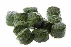 Frozen Chopped Spinach Royalty Free Stock Photos