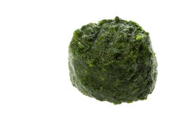 Frozen Chopped Spinach Royalty Free Stock Images