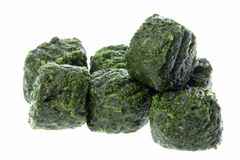 Frozen Chopped Spinach Stock Images