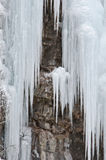 Frozen Cliff Stock Image