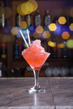 Frozen cocktail Royalty Free Stock Image