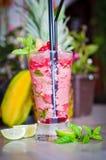 Frozen cocktail Stock Photo