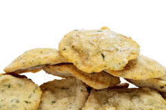 Frozen cod cakes Stock Images