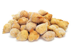 Frozen cod fritters Royalty Free Stock Photos