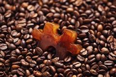 Frozen coffee Stock Image