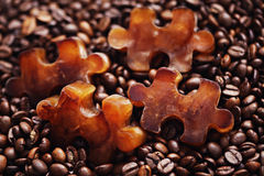Frozen coffee Stock Images