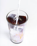 Frozen coffee Royalty Free Stock Photography