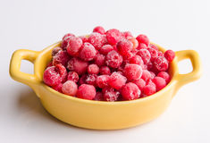 Frozen cranberries Stock Image
